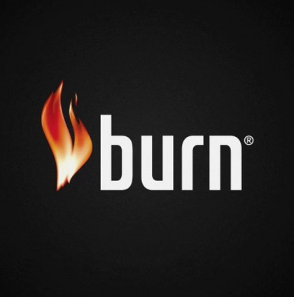 Burn – billboard