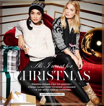 Gina Tricot – radio så in i norden till jul